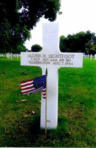 LIGHTFOOT Alden h tombe