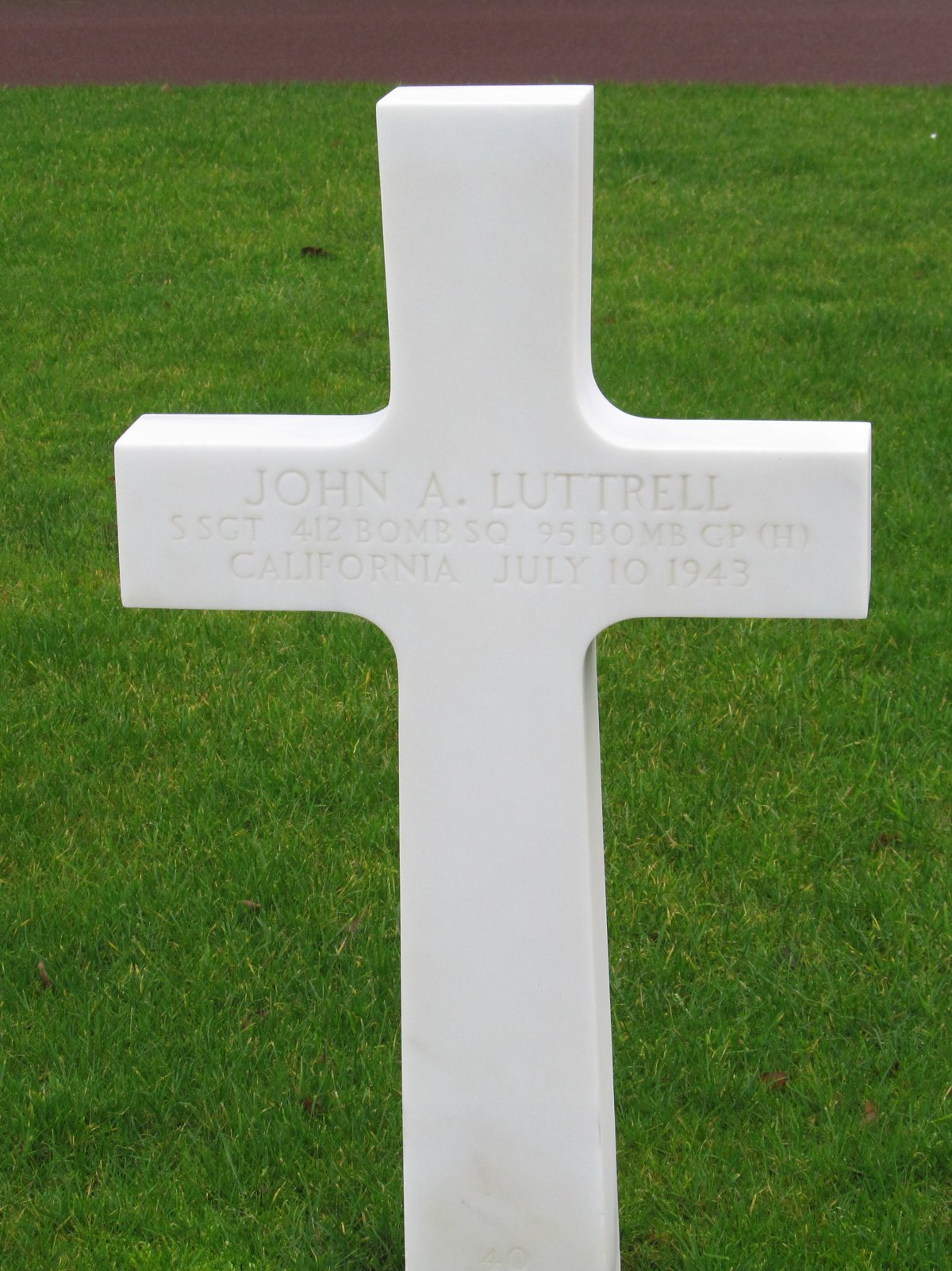 LUTTRELL John A tombe