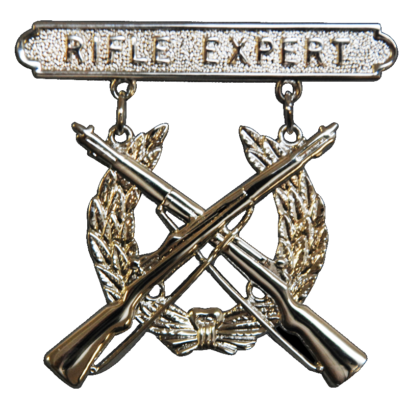 badge expert rifle
