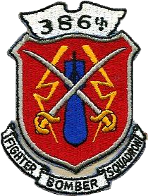 386 fighter bomb squadron