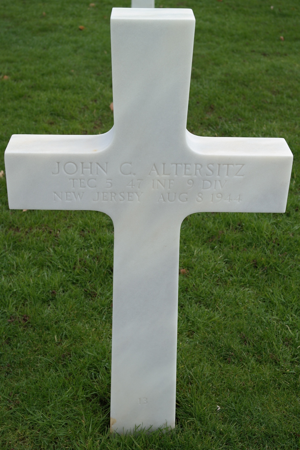 altersitz john c tombe