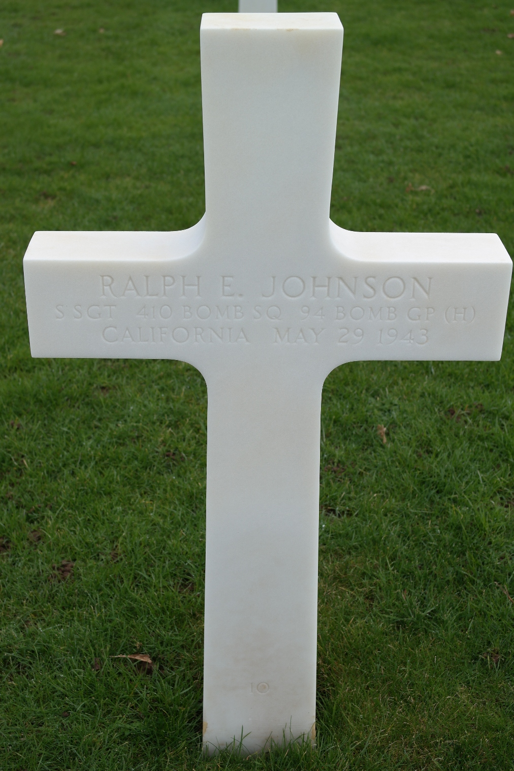johnson ralph e tombe